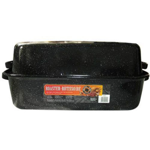 Granite ware 0511-3 covered rectangular roaster