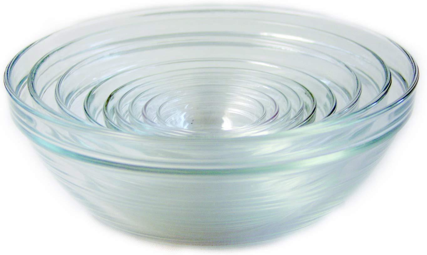 Duralex lys stackable bowl set