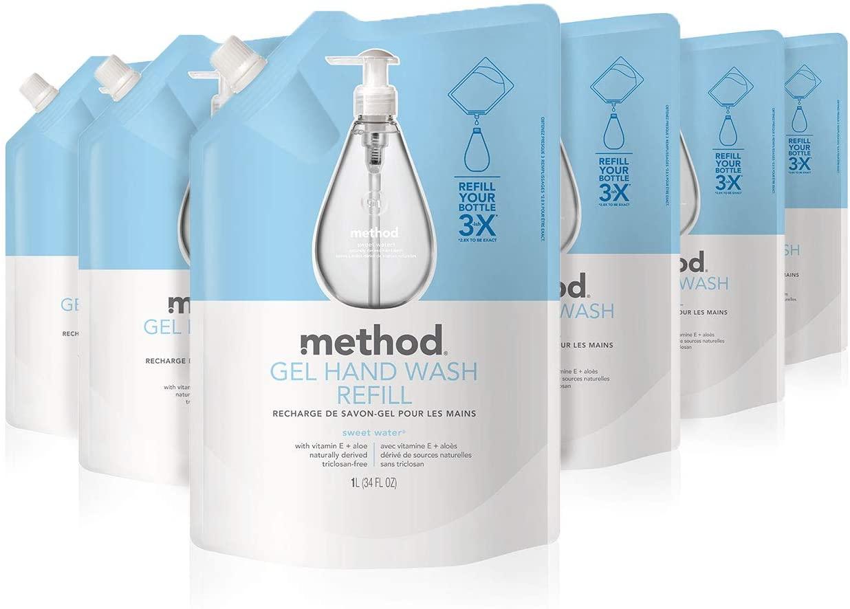 Method gel hand soap sweet water refill
