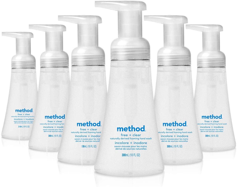 Method foaming hand soap
