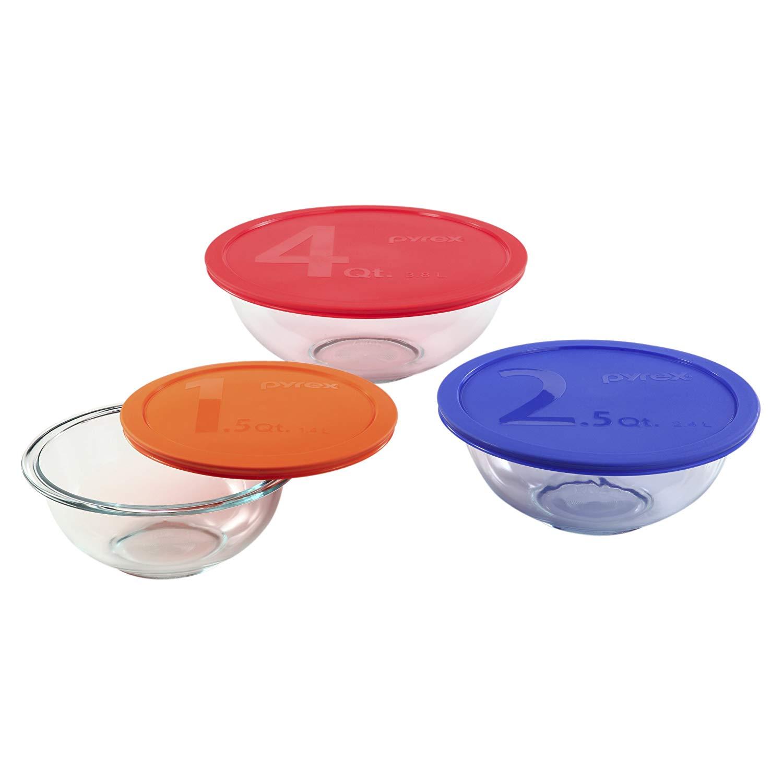 Pyrex 1085308mixing bowl set