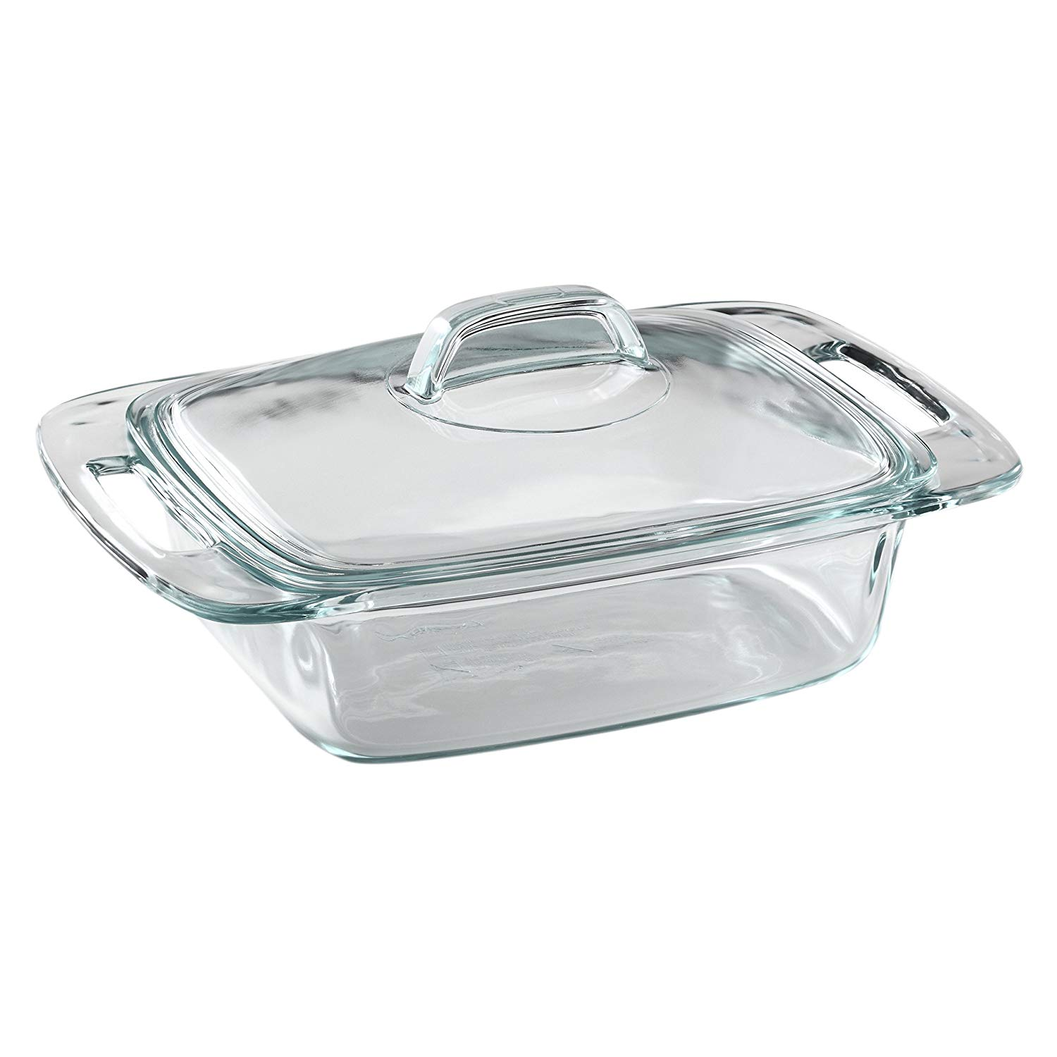 Pyrex easy grab 2-quart casserole dish with lid