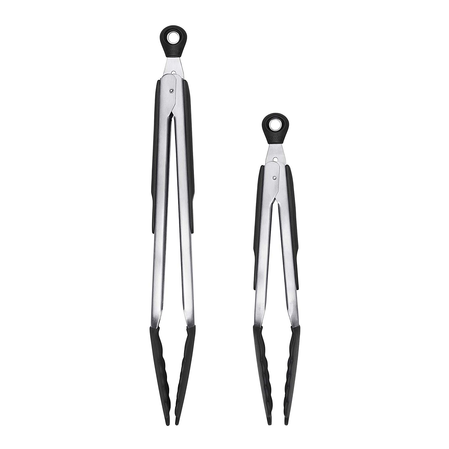 Oxo good grips 12-inch tongs with silicone heads