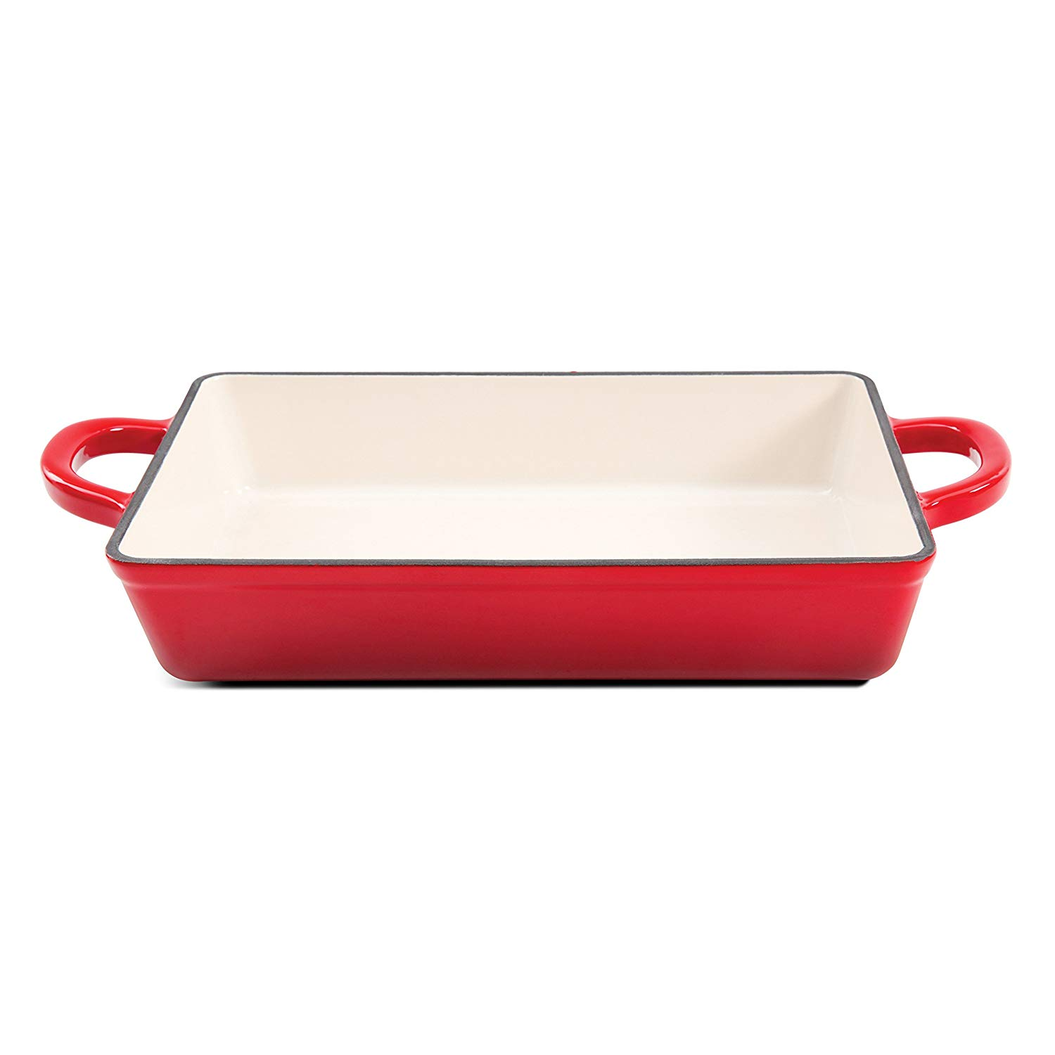 Crock pot enameled cast iron lasagna pan