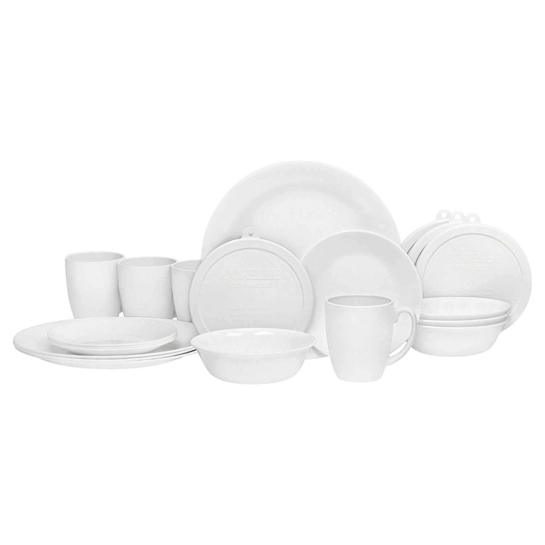 Corelle livingware dinnerware sets