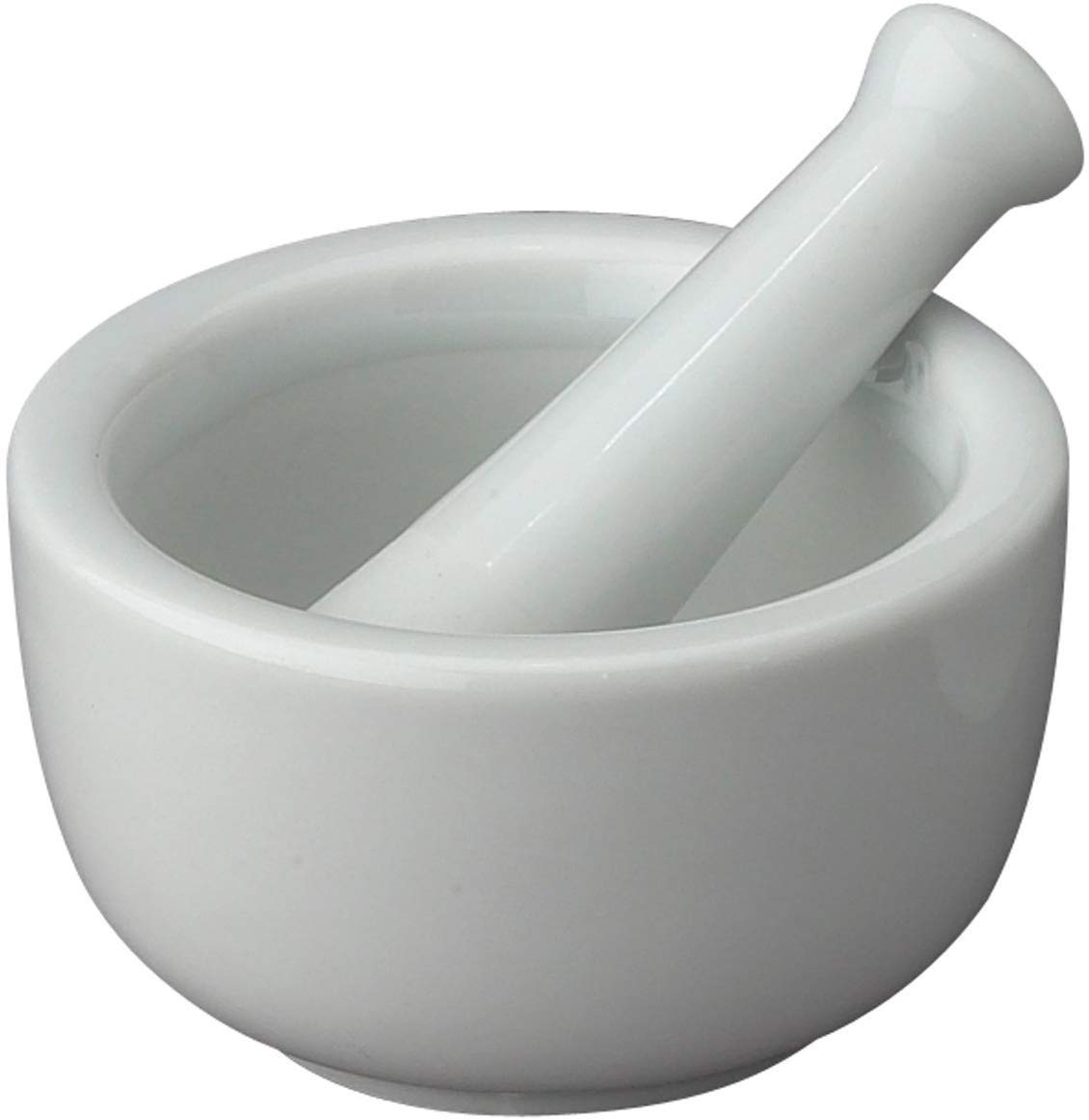 Hic porcelain mortar and pestle