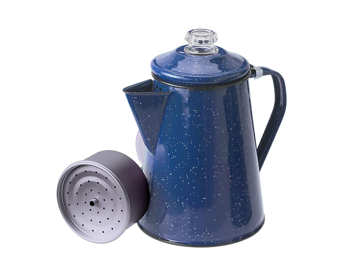 Gsi outdoors enamelware coffee percolator pot