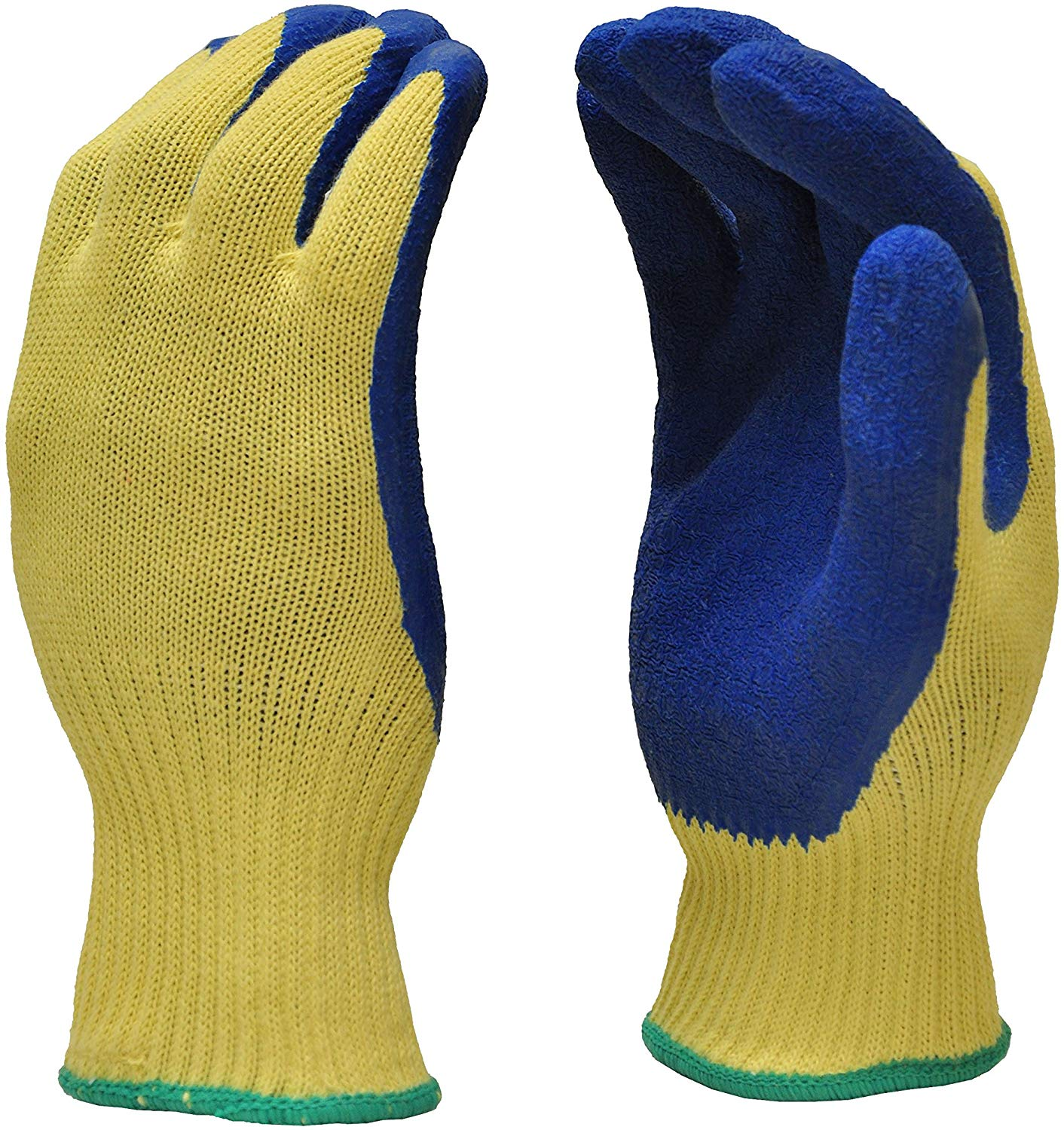 G & f products cut resistant work gloves, 100% kevlar knit work gloves