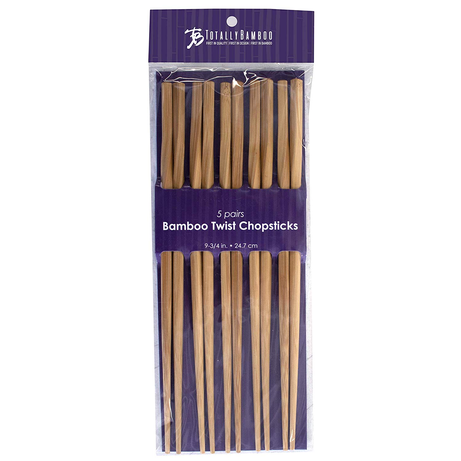 Totally bamboo reusable chopsticks