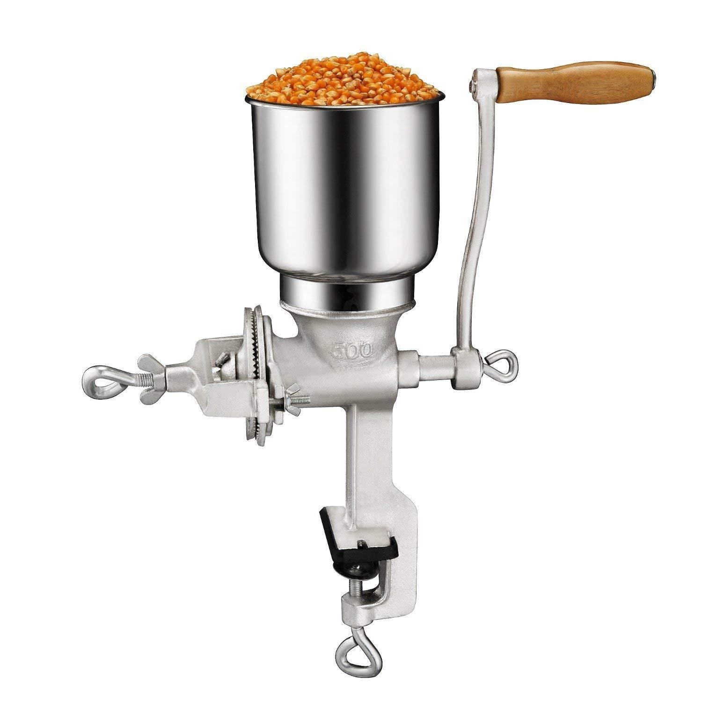 Premium quality cast iron corn grinder