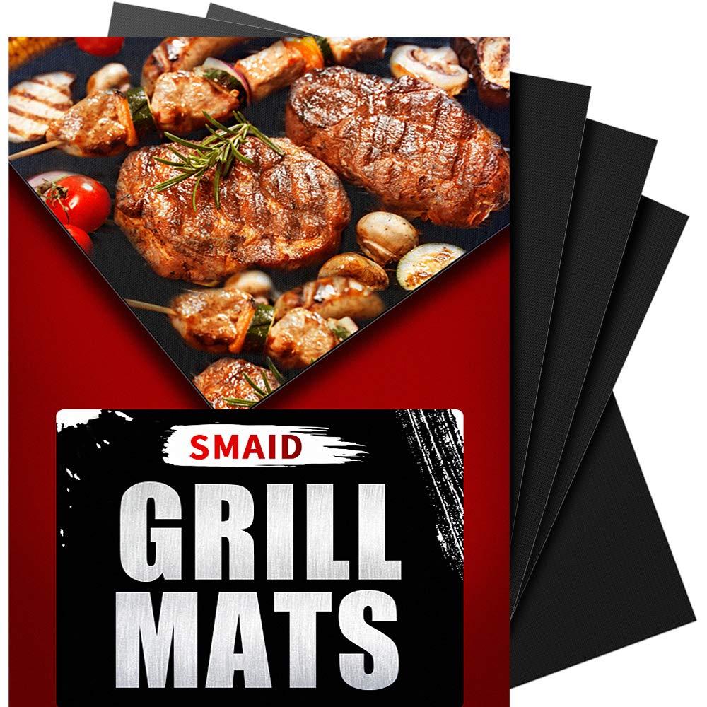 Smaid grill mat – 100% non-stick bbq grill mats