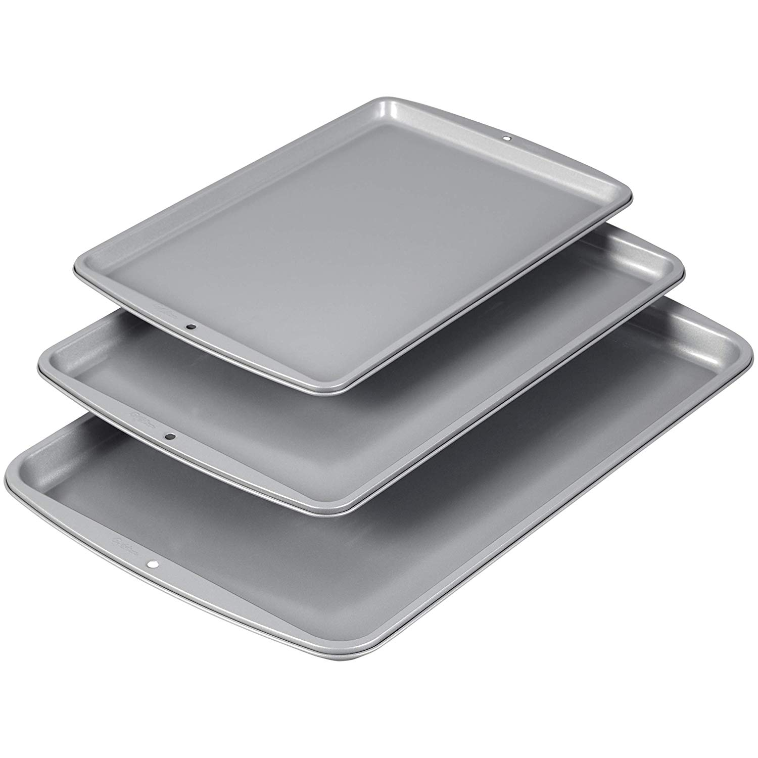 Wilton recipe right cookie pan set