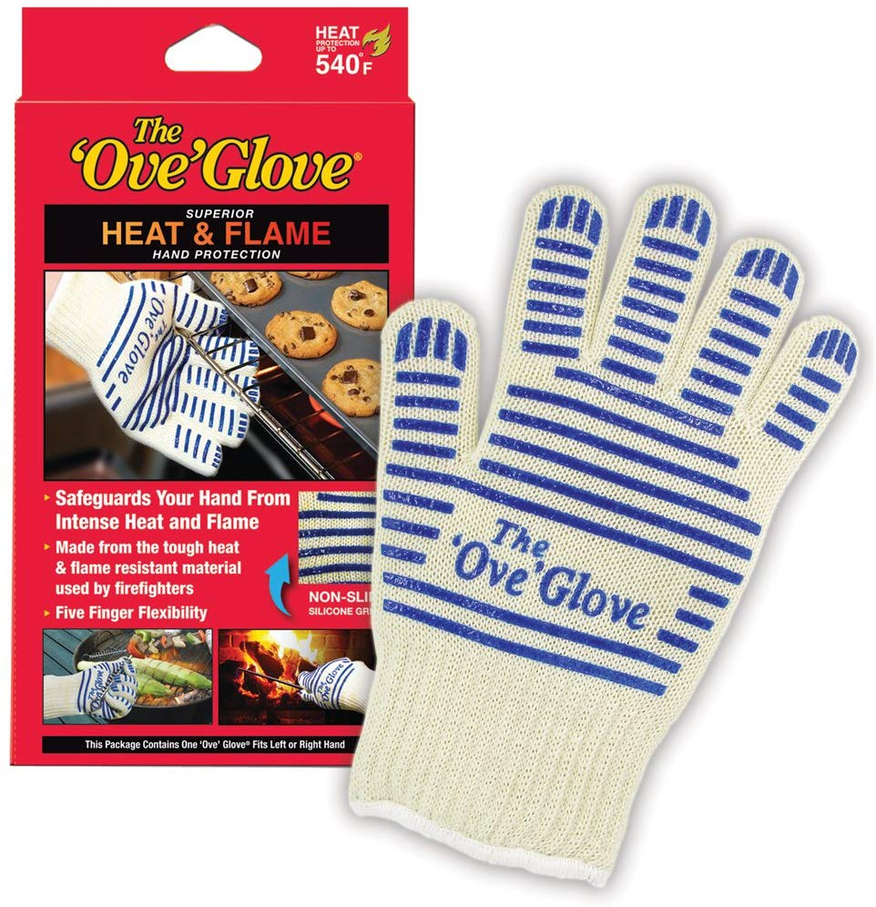 The ove glove hot surface handler