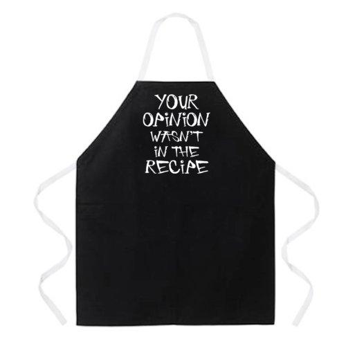 Stylish attitude apron