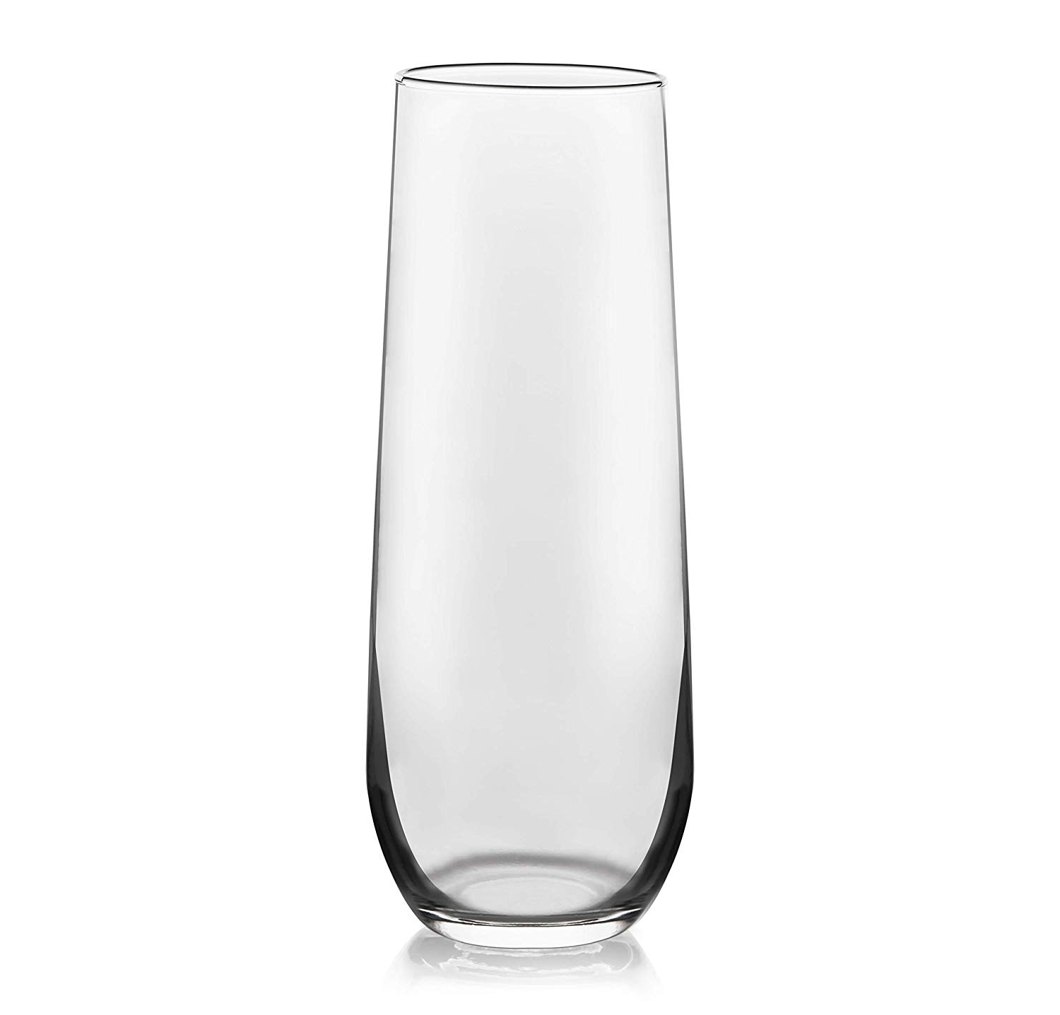 Libbey stemless champagne flute glass