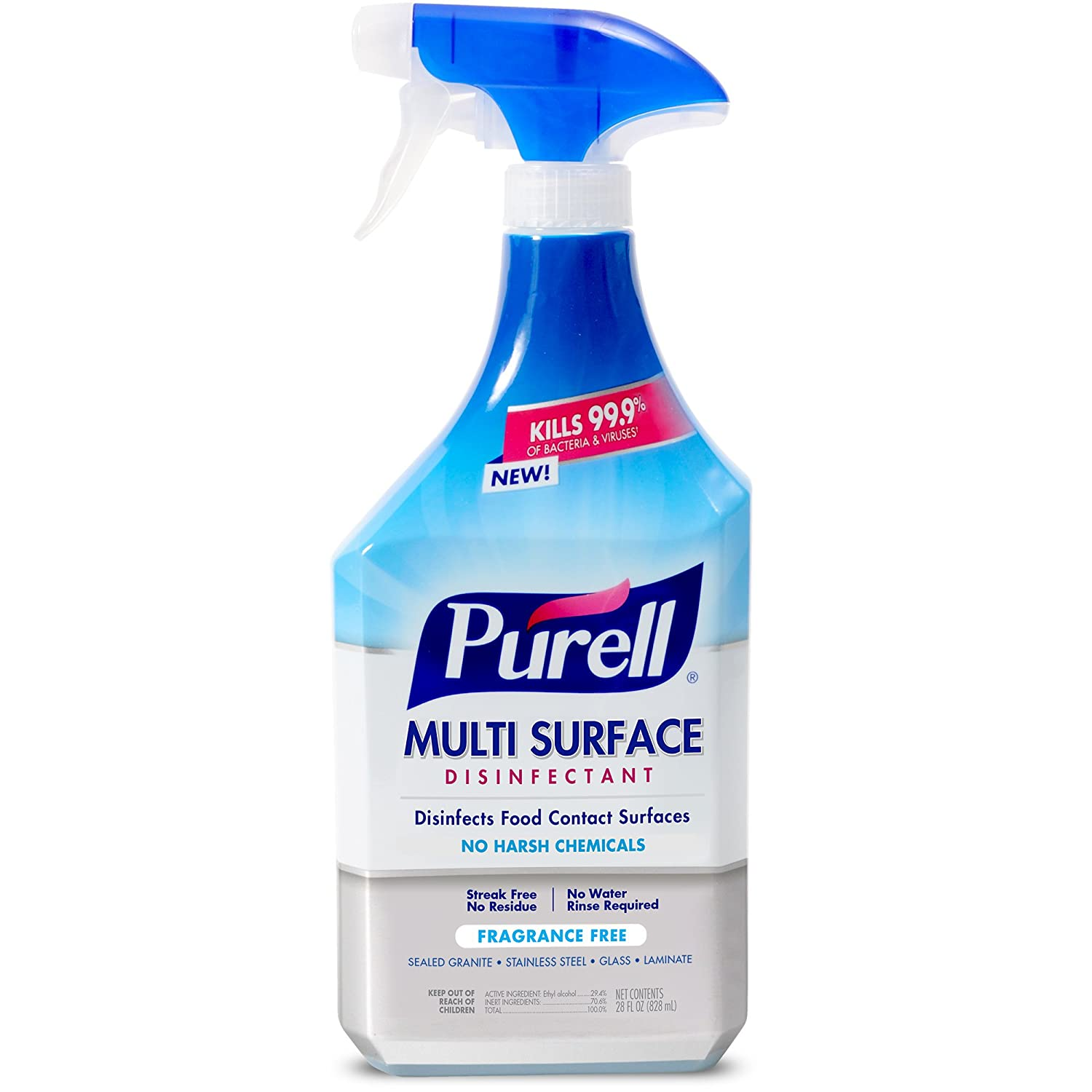 The purell multi-surface disinfectant spray