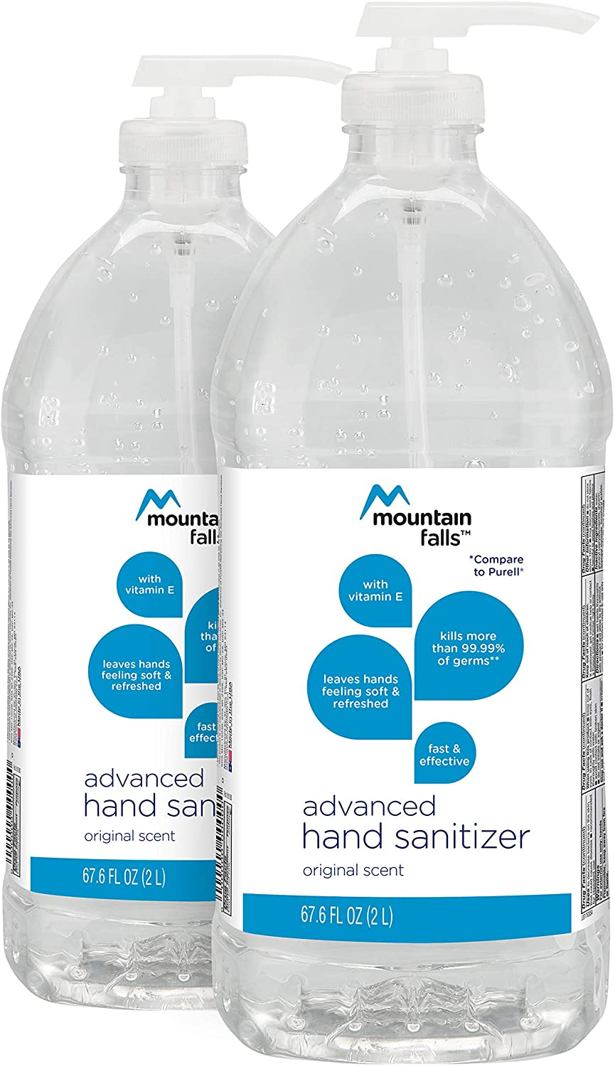 Mountain falls advanced hand sanitizer