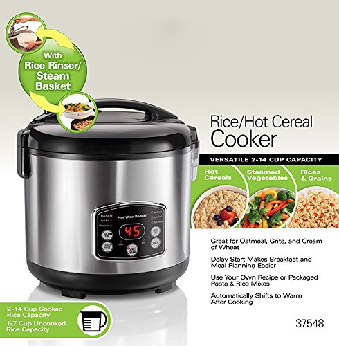 Hamilton beach® rice and cereal cooker