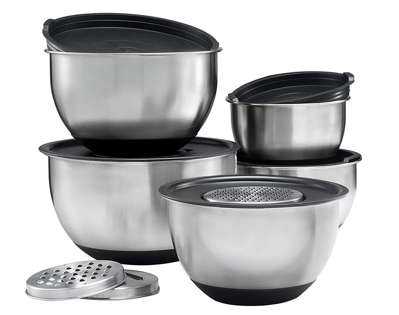 Sagler stainless steel mixing bowls