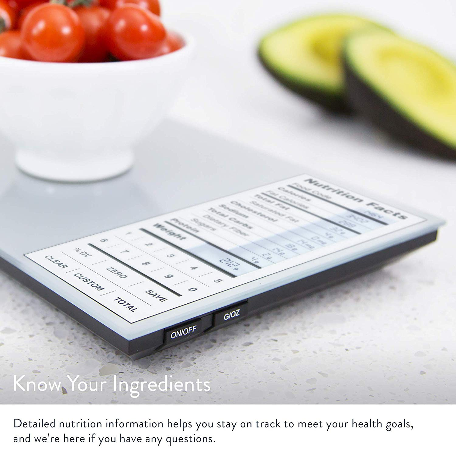 Greater goods nourish digital food scale