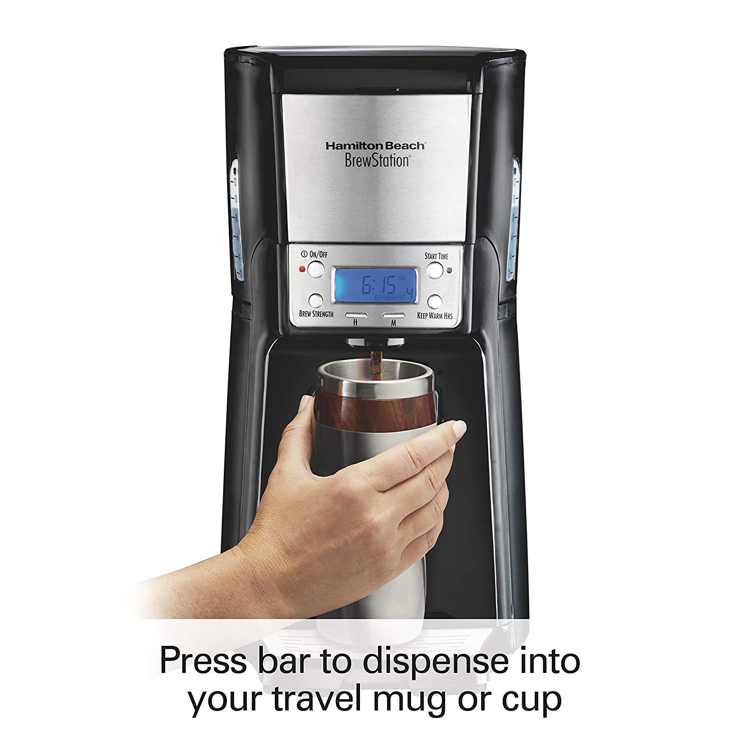 Hamilton beach brewstation 12 cup coffee maker