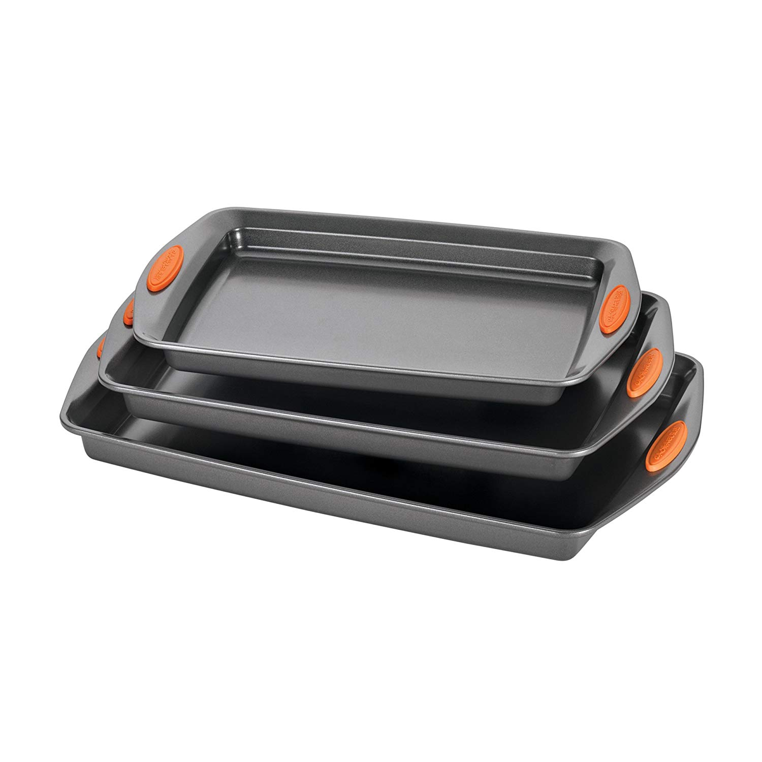 Rachael ray oven lovin' nonstick bakeware baking and cookie pan set