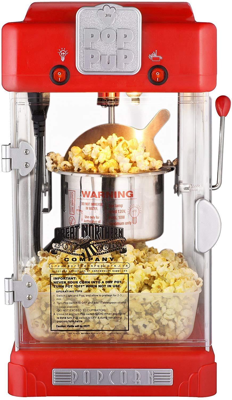 Great northern popcorn machine pop pup