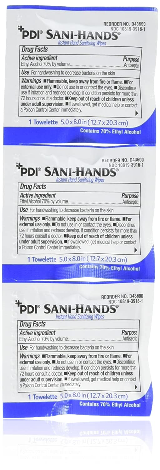 Sani-hands hand sanitizer wipes