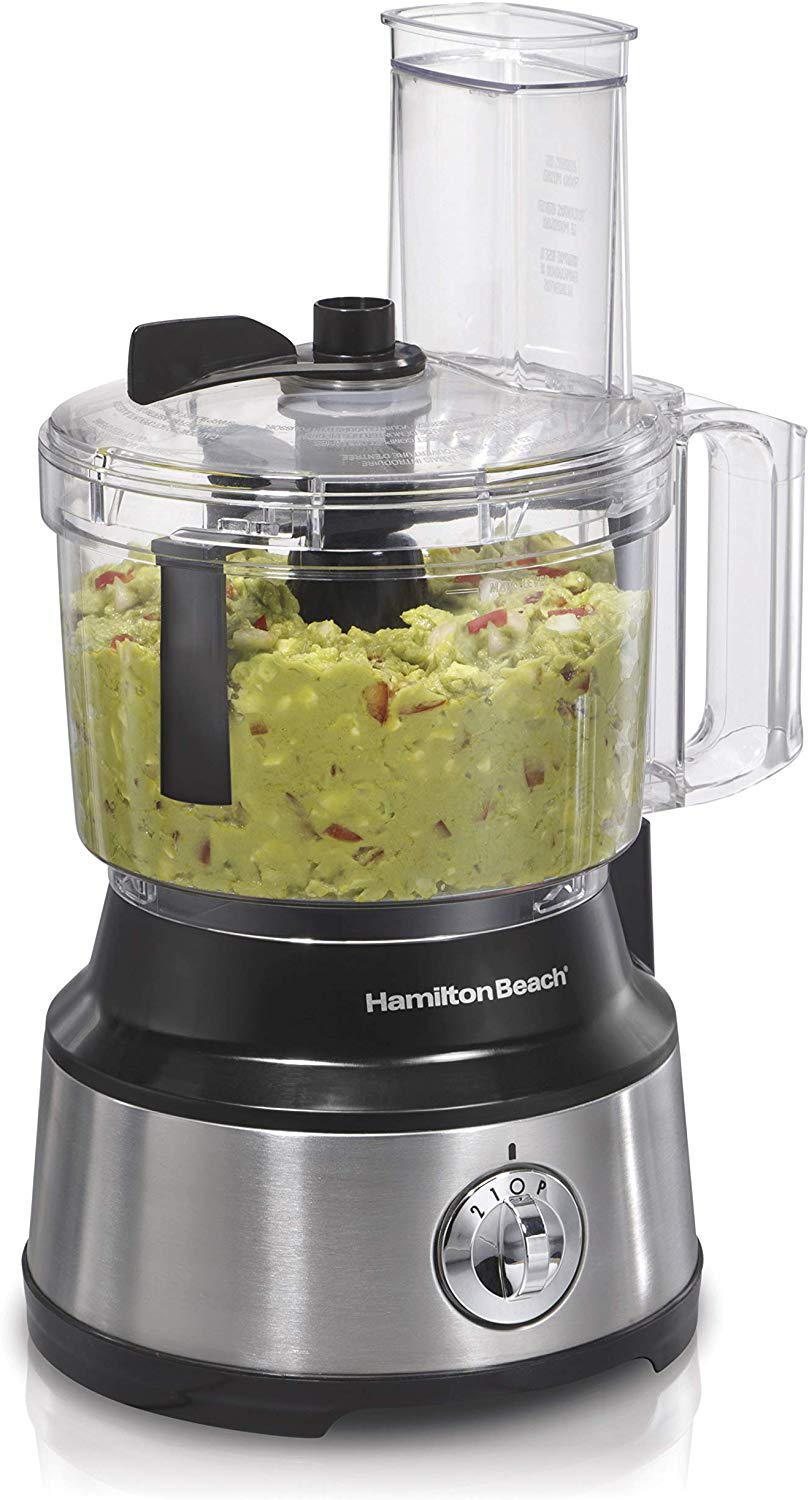 Hamilton beach food processor with bowl scraper