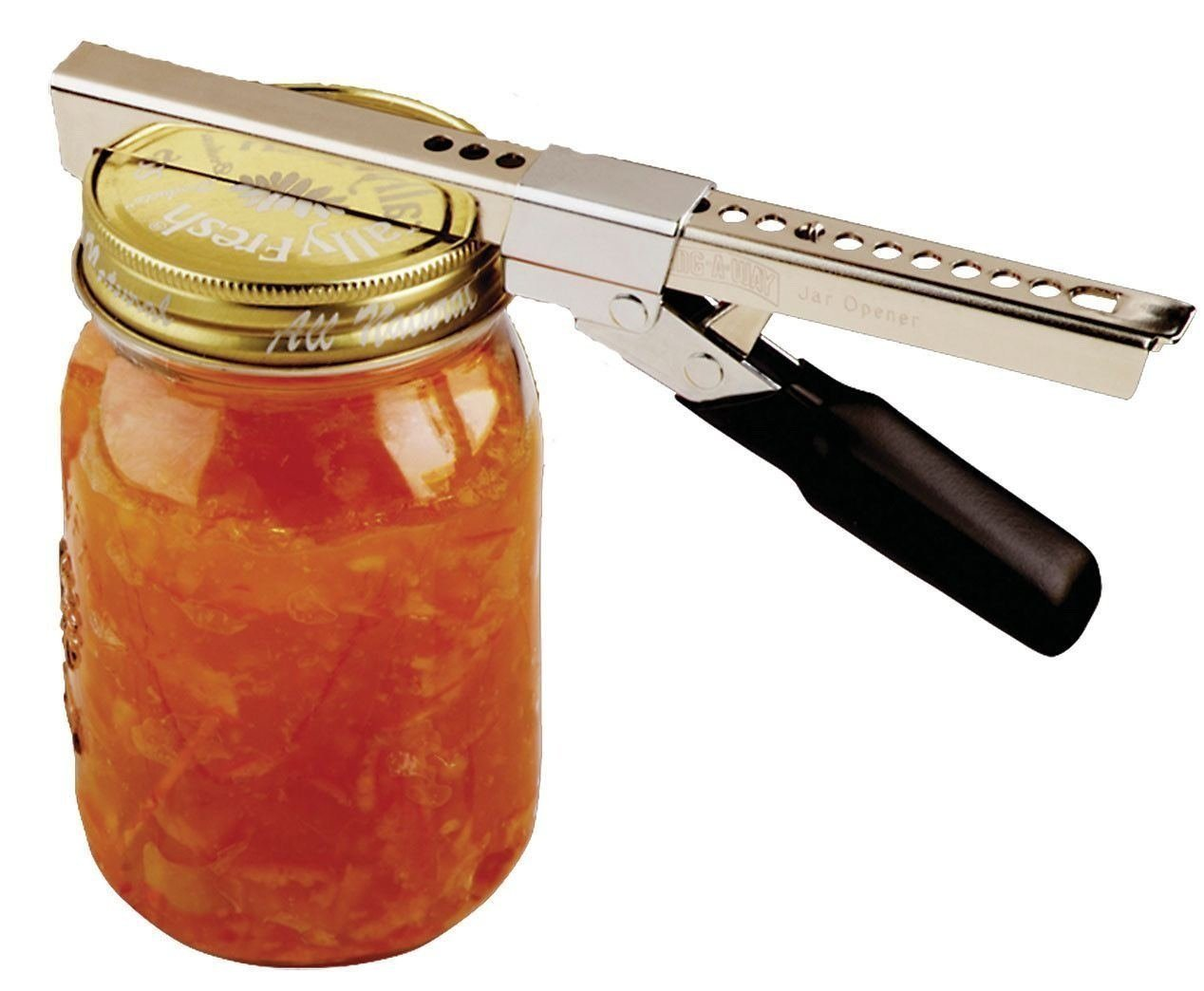 Swing-a-way comfort grip jar opener