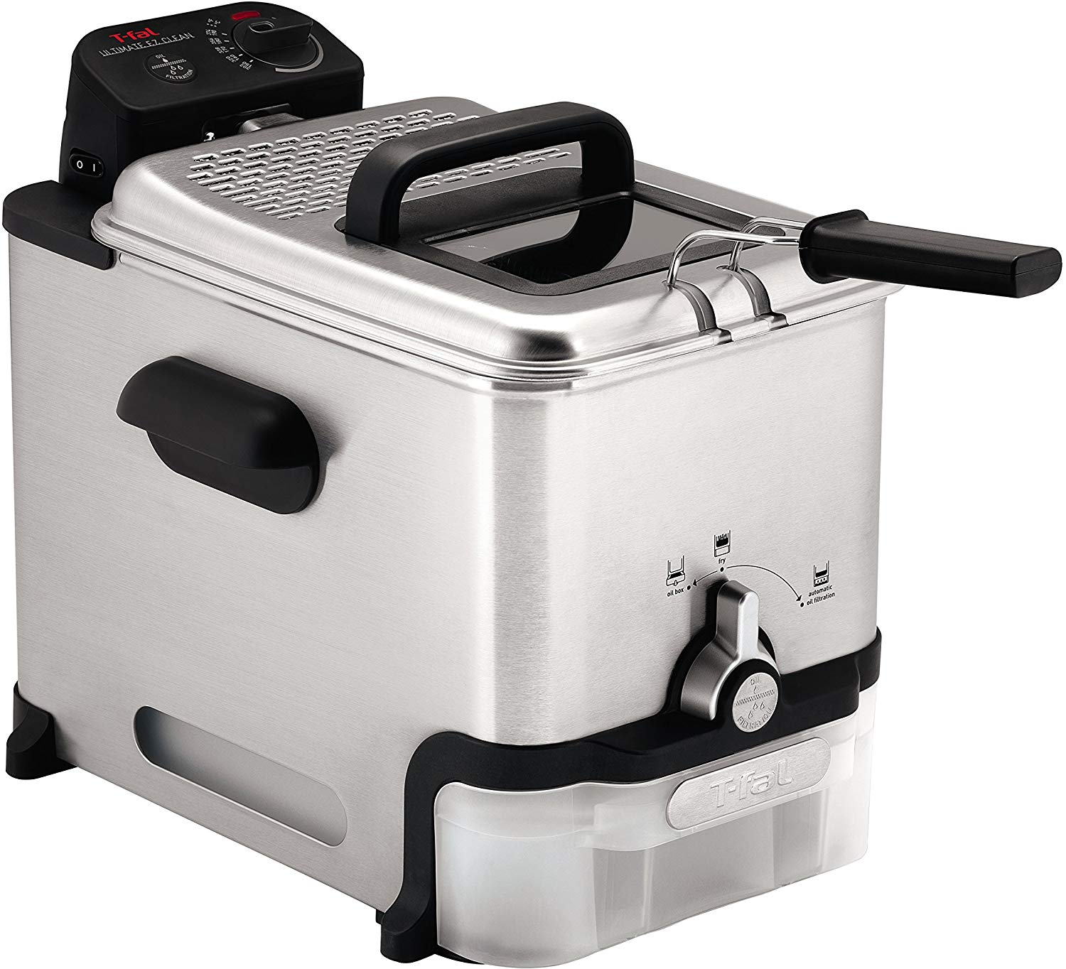 T-fal fr8000 ez clean immersion deep fryer