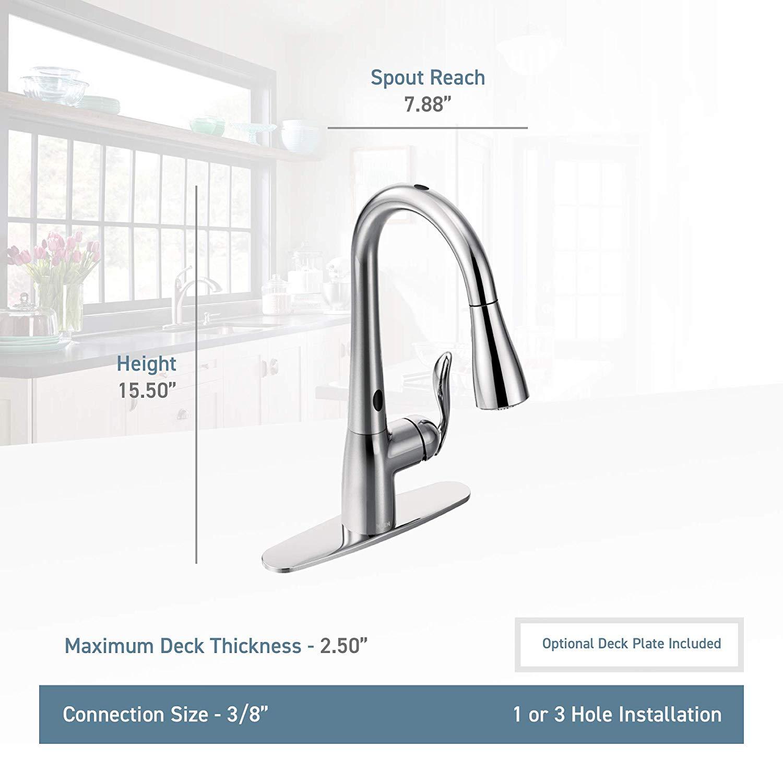 Moen arbor 7594esrs motionsense kitchen faucet
