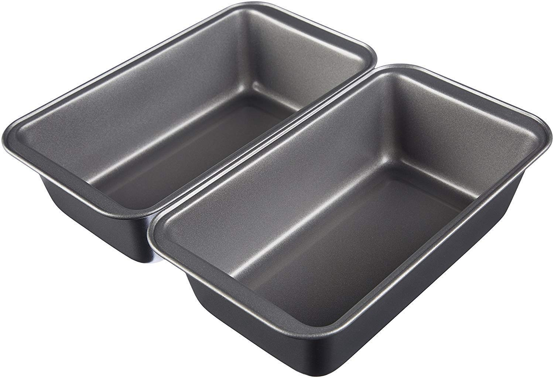 Amazonbasics nonstick carbon steel bread pan