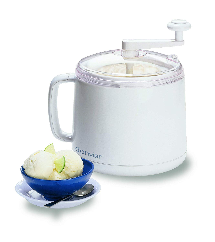 Donvier manual ice cream maker, 1-quart