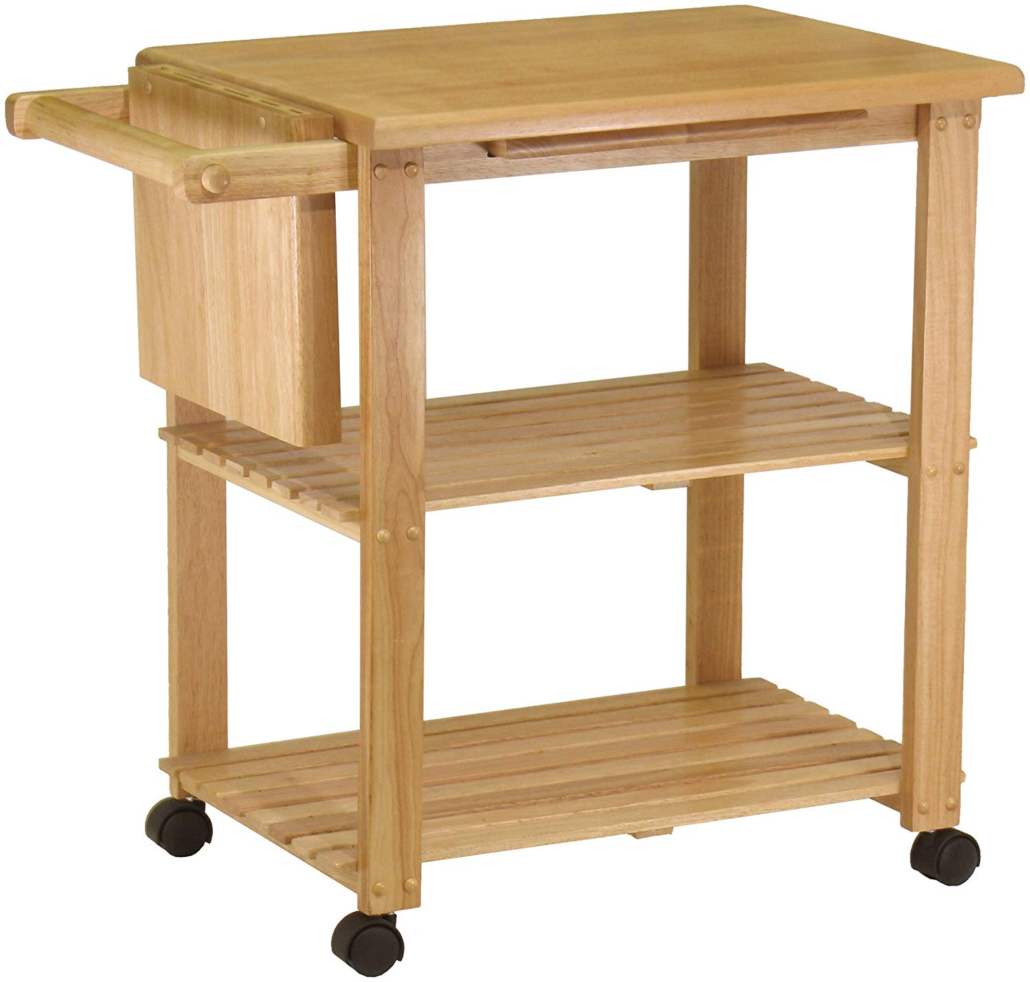Winsome wood natural utility cart