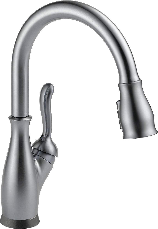 Delta 9178t-ar-dst touch kitchen faucet
