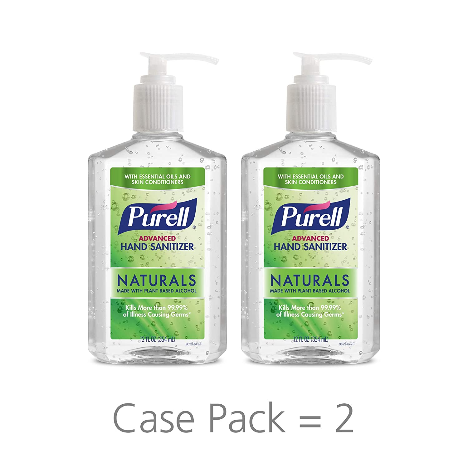 Purell advanced hand sanitizer naturals