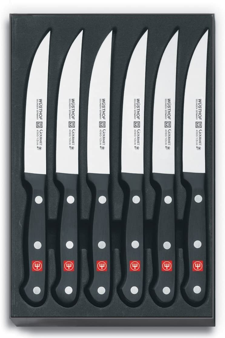 Wusthof gourmet steak-knife set