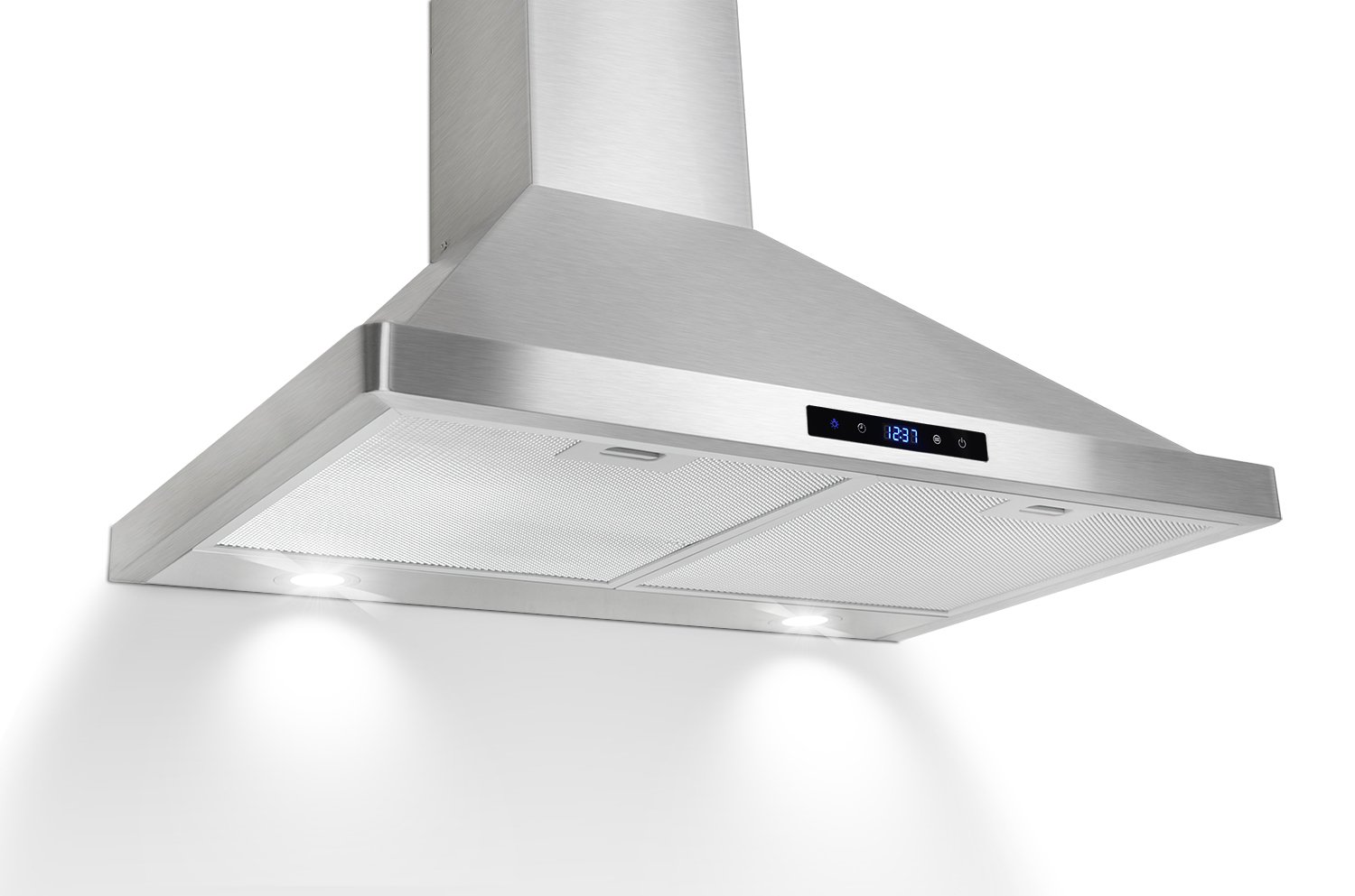 Akdy 30? kitchen wall mount stainless steel touch panel control range hood