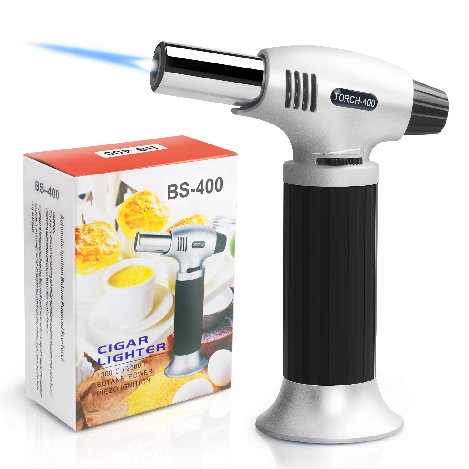 Authenzo kitchen butane kitchen torch lighter