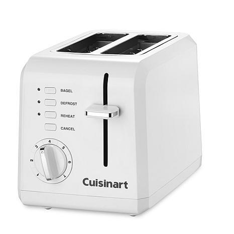 Cuisinart 2 slice compact plastic toaster