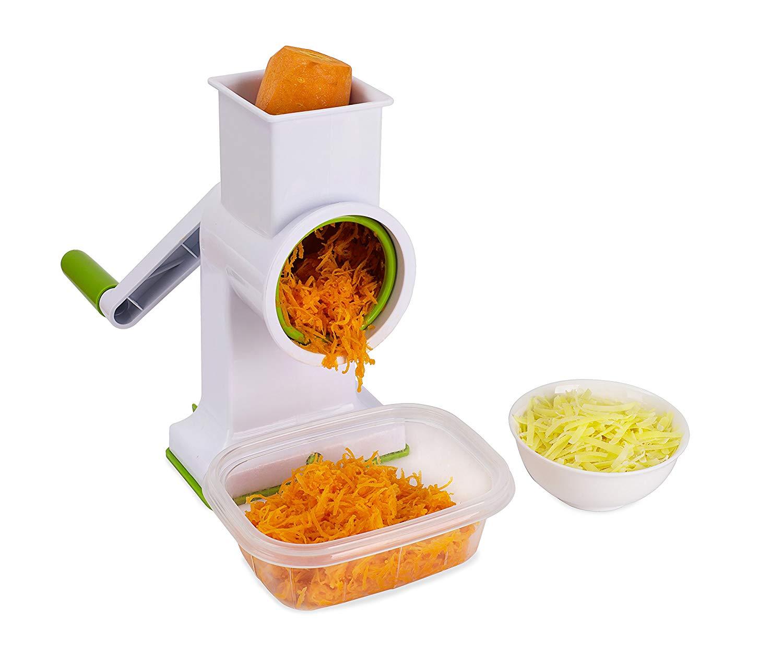 Kuuk drum rotary cheese grater – low cost and razor sharp