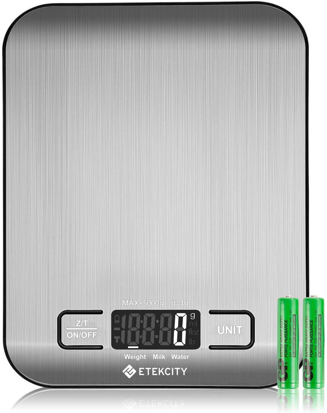Etekcity digital multifunction stainless steel kitchen food scale