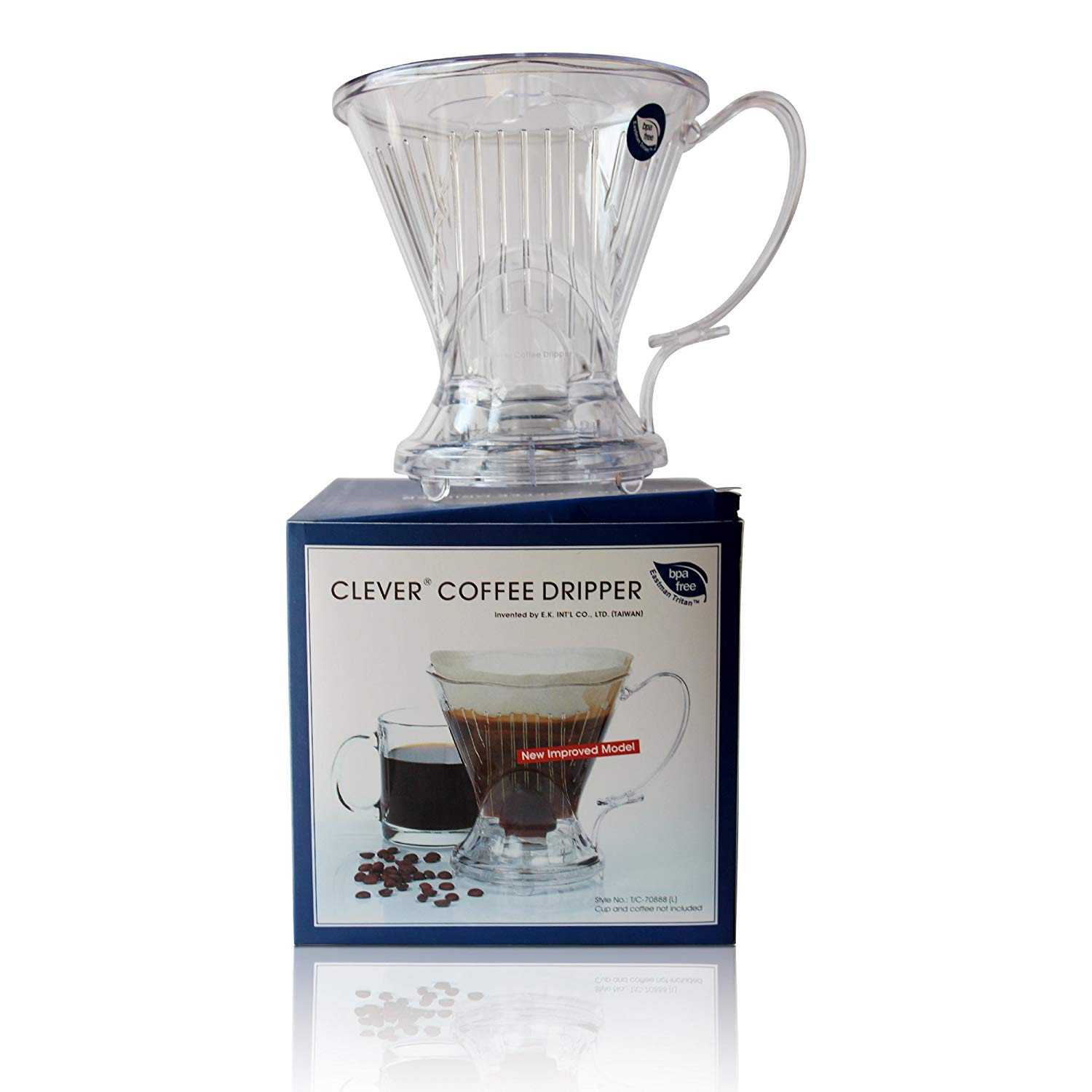 Clever coffee dripper by coastline | large – 18 ounces