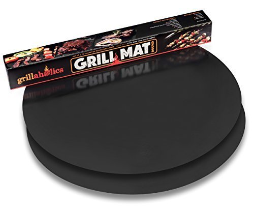 Grillaholics round grill mat