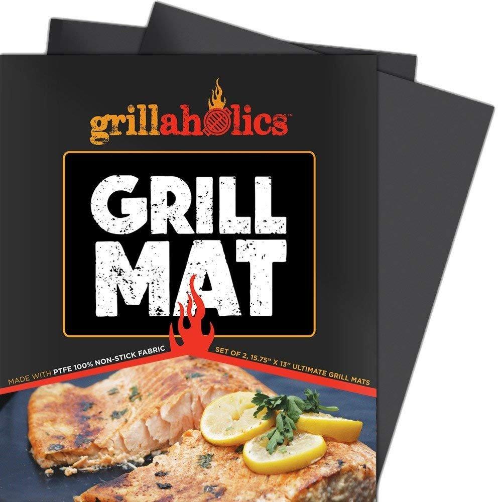 Grillaholics heavy duty bbq grill mats