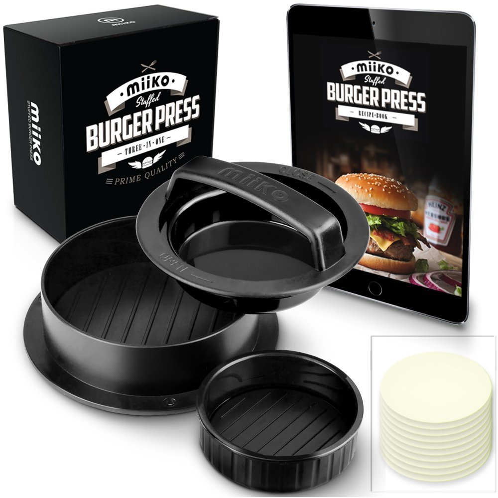 Miiko stuffed burger press