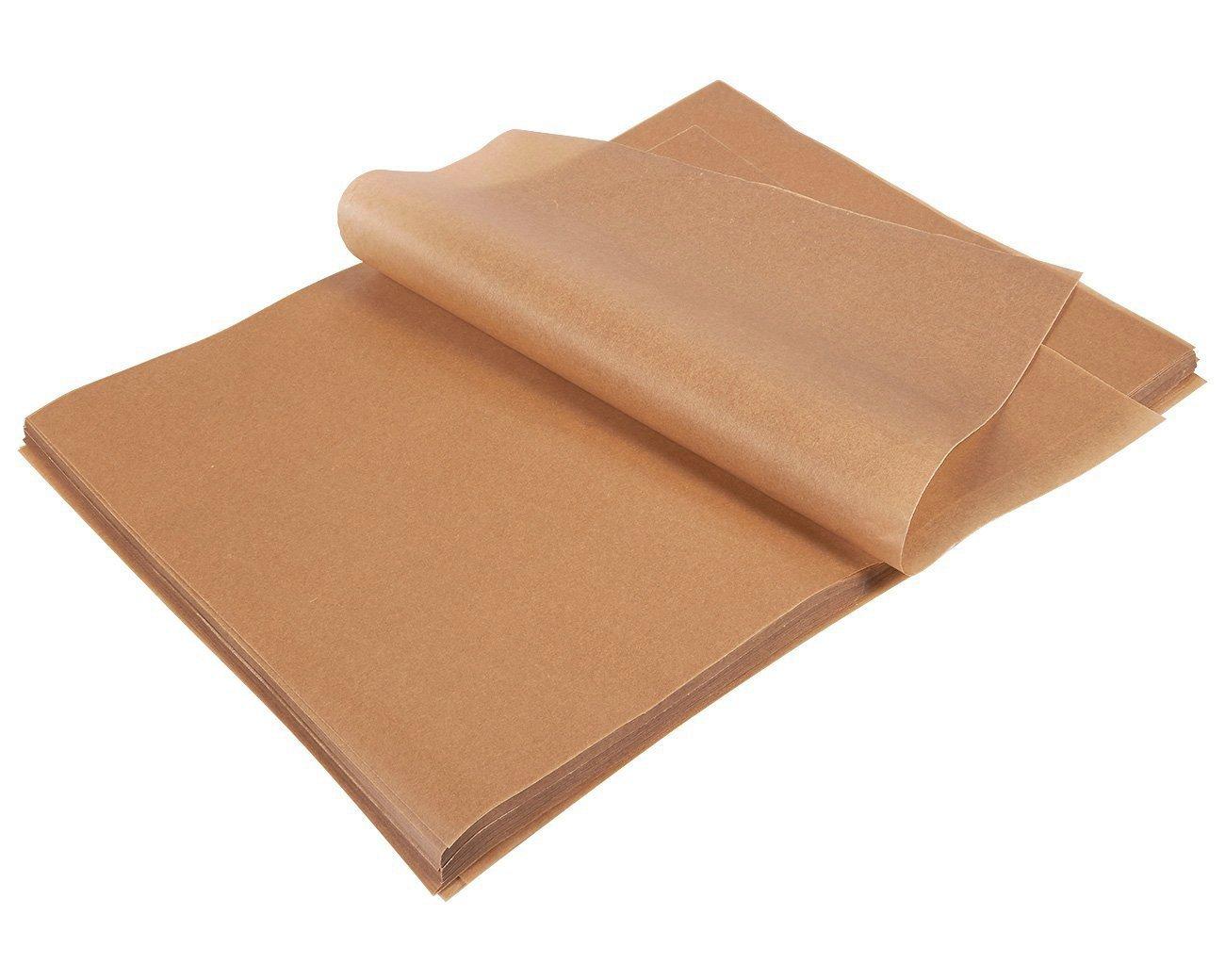 Parchment paper sheets 200-count precut unbleached parchment paper for baking