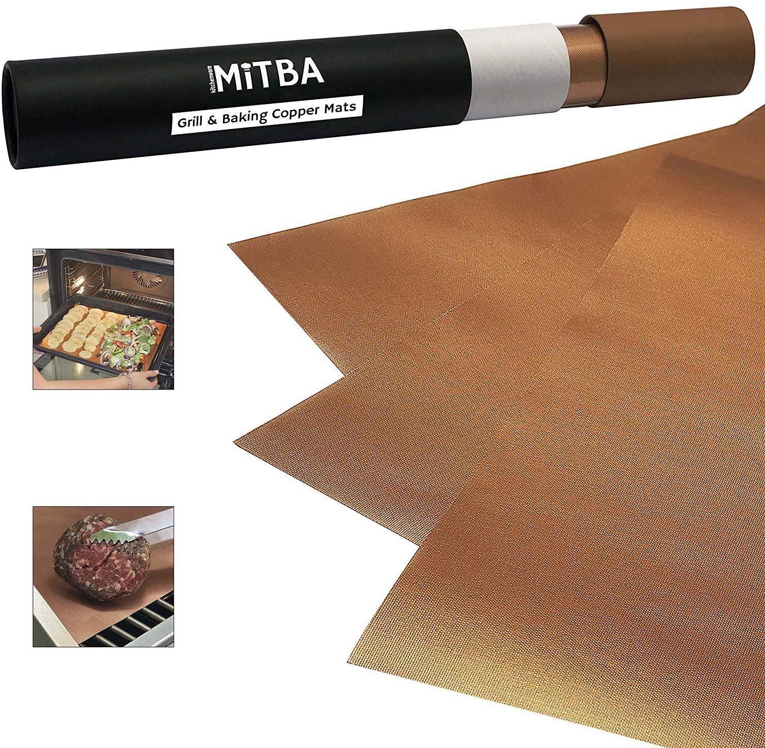 Mitba copper grill mats