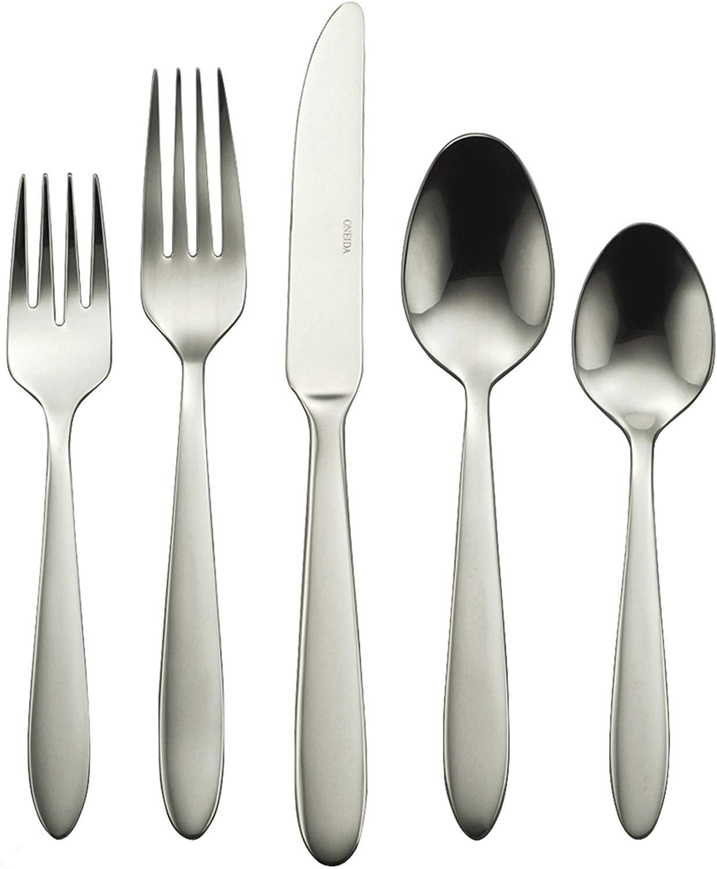 Oneida mooncrest flatware set